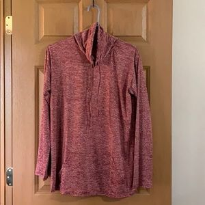 New w/o tags, cowl neck, long sleeved top